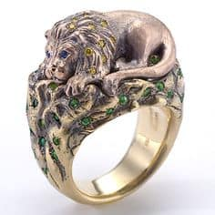 wendy brandes lion ring