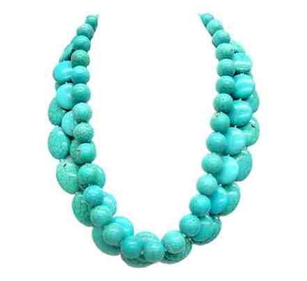 Shop One Twenty Multi-Strand Turquoise Statement Necklace