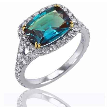 alexandrite corundum blue green