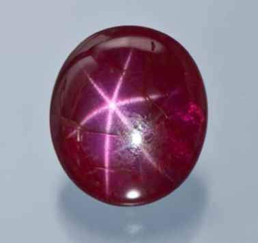 corundum asterism star ruby