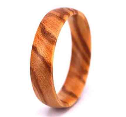 His And Her Wooden Wedding Bands - 5 Stunners!