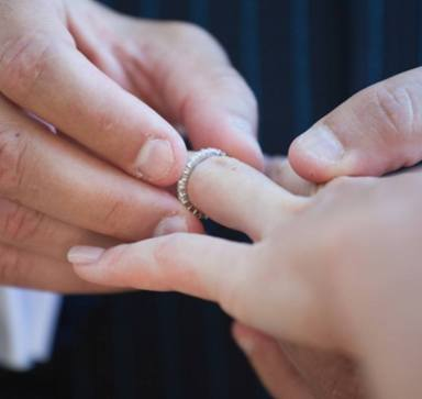 exchanging promise rings