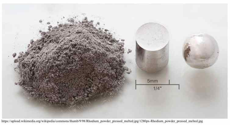 what is rhodium used for