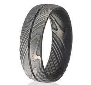 Damascus Steel Rings For Men