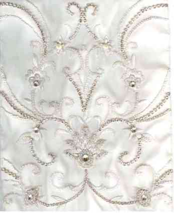 bridal fabric choices