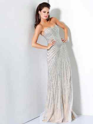 evening dress mature bride