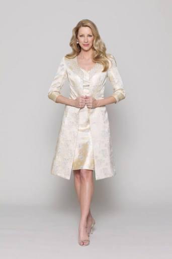 wedding suit for mature brides