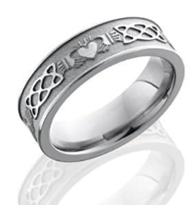 claddagh ring sandblasted