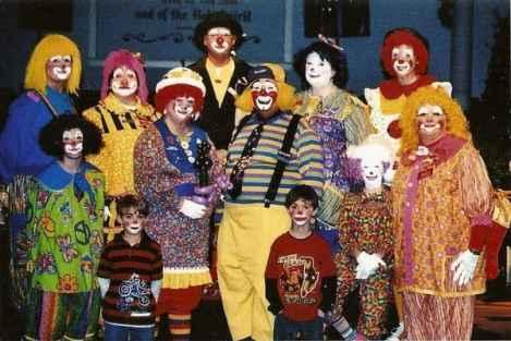clown wedding