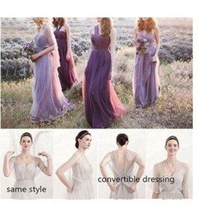 bridesmaid purple convertible