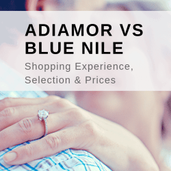 ADIAMOR VS BLUE NILE: SHIPPING EXPERIENCE, SELECTION & PRICES
