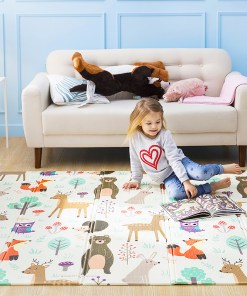 Kid's Cartoon Folding Play Mat