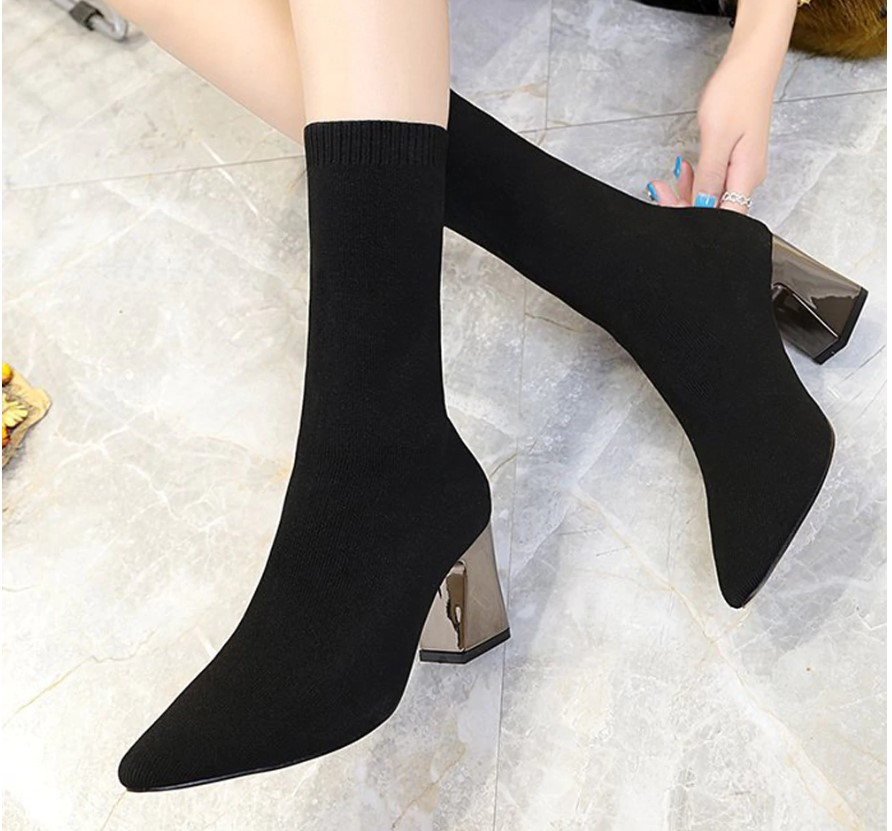 Women's Ankle Sock Boots