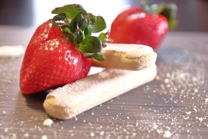 Strawberries and Lady Fingers