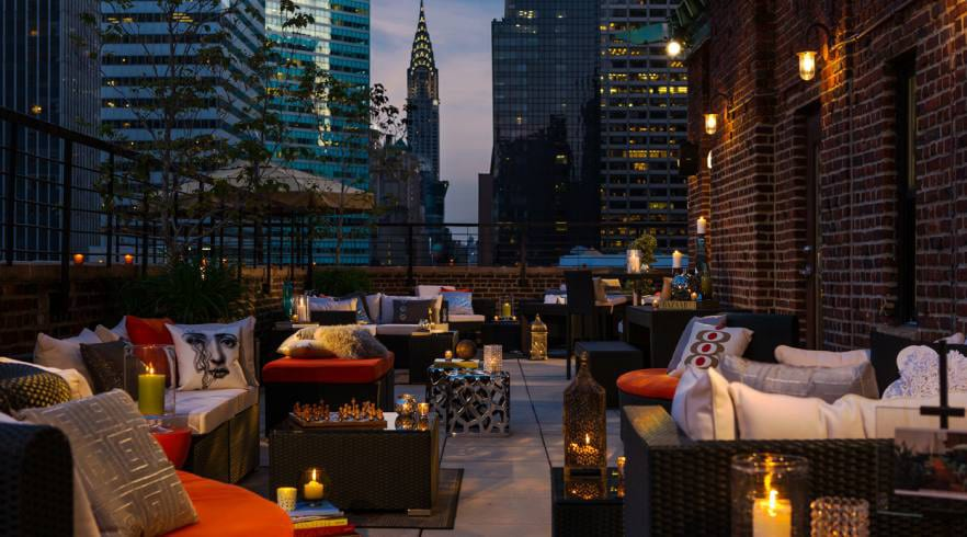 the living room with sky bar modern wooden sofa designs for 34 best rooftop bars in new york guide 2019