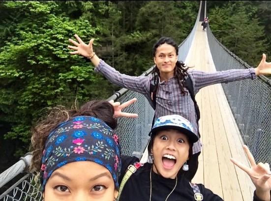 UGF enjoying the bridge