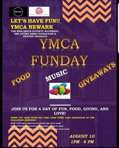 YMCA Funday Event Flyer