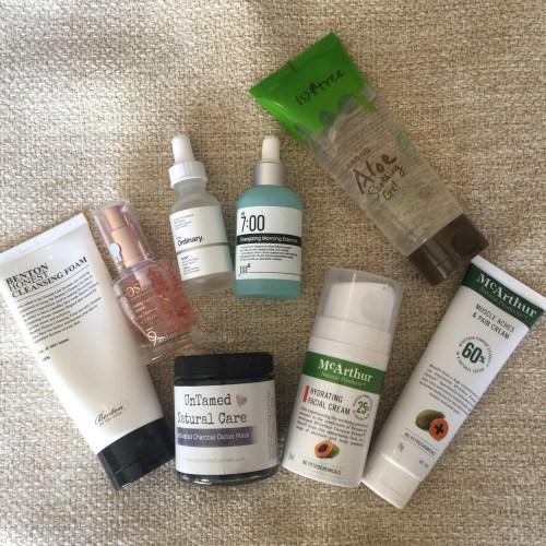 June Skin Care Favorites