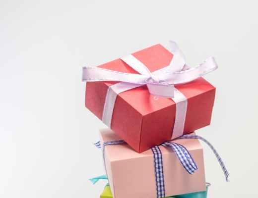 anniversary birthday bow box