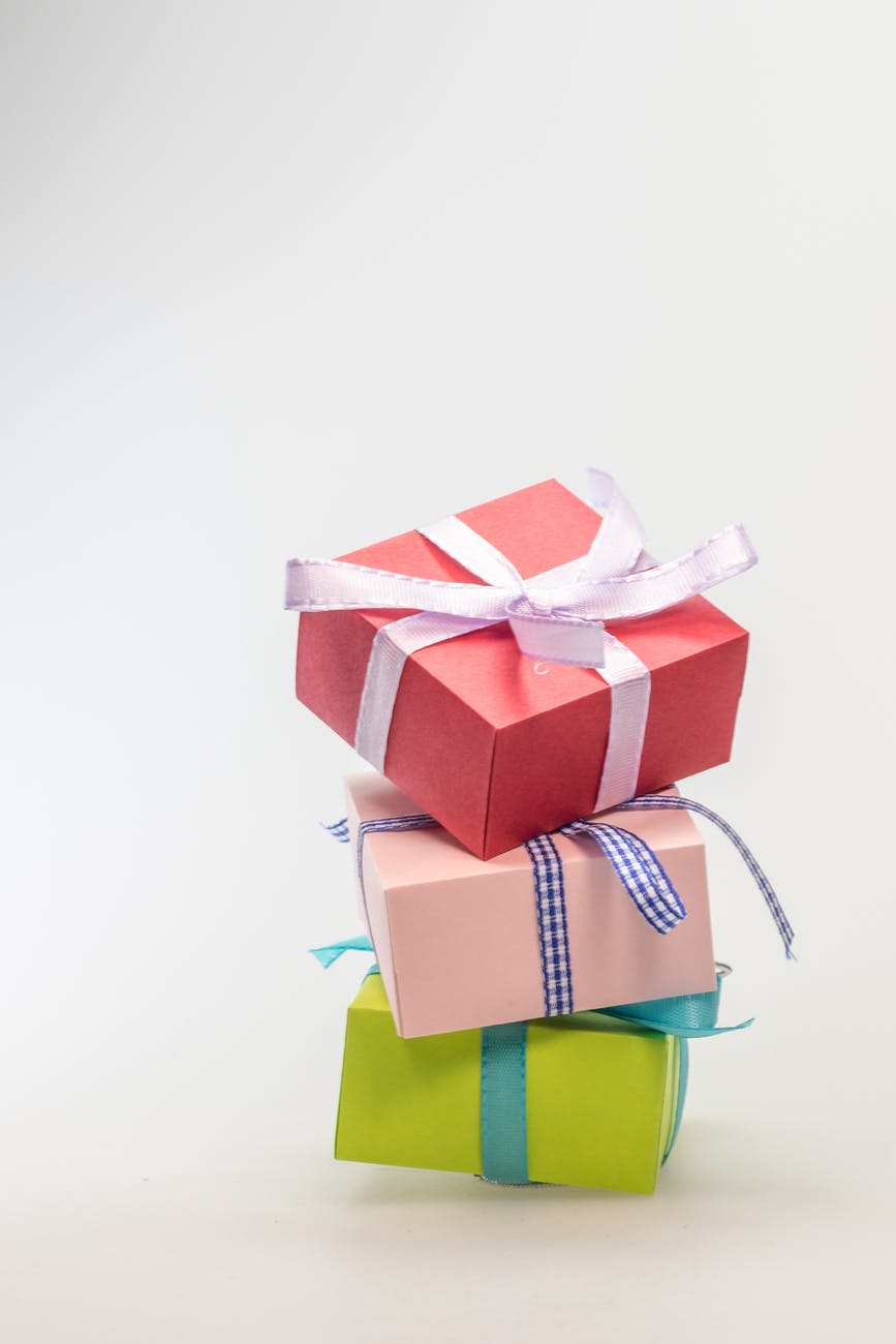anniversary birthday bow box