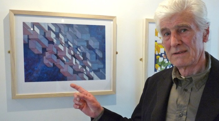 Jeffrey Pine artist exhibiting ih Lon E8 June 2012