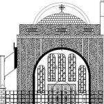 Proposed St Mary of Zion church, Clapton, Lon E5