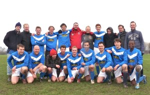 BIRKBECK ORIENT jubilant after another 5-goal orgy, this time against Haggerston FC, who were allowed only 1.