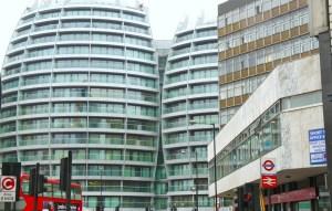 Old Street roundabout: oodles of unlet office space