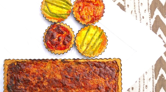 Asparagus, onion and tomato tartlets 030713 © david.altheer@gmail.com