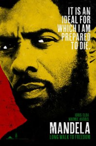 Poster for Elba's Mandela movie