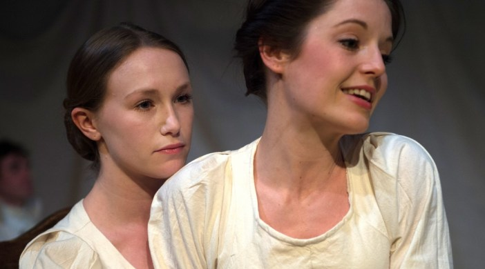 Bill Knight's picture shows Hannah Maddison, as Jane Eyre, and Joss Wyre as her charge Adele