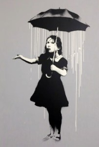 Banksy in N16: supplied pi