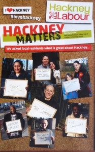 Hackney Labour 4p leaflet May 2014
