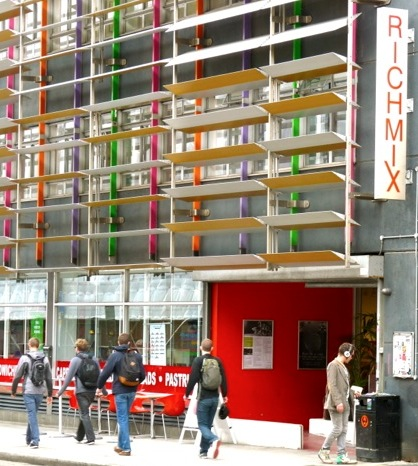 RichMix cinema and bar, Bethnal Green Rd, Shoreditch , London 250912 © david.altheer@gmail.com