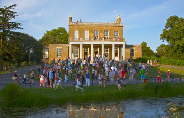 Clissold Park opening pic recreated 2014  by DoubleHPhotography