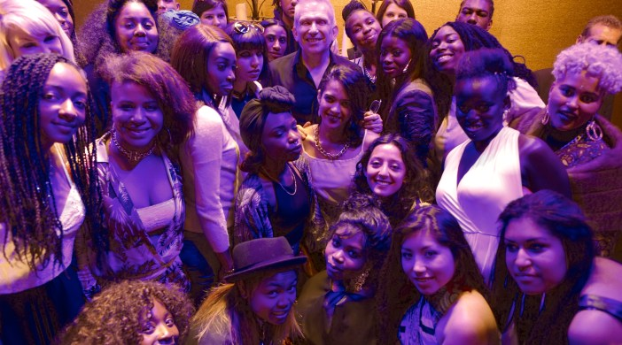 Hackney jobless at Paris fashion week with Jean Paul Gaultier (supplied pic)