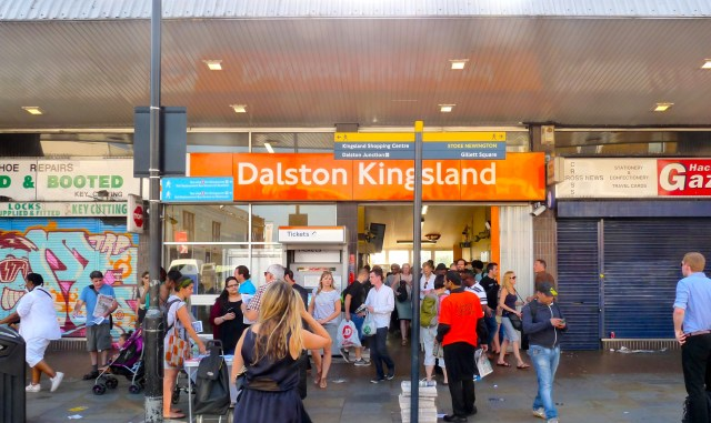 Dalston Kingsland station Kingsland High St E8 2JS 180714 © david.altheer@gmail.com