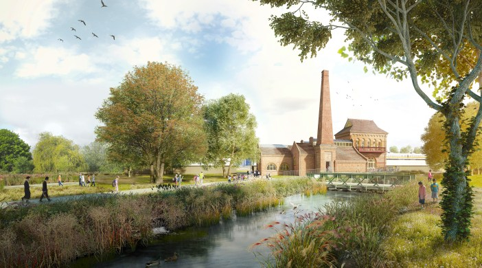 Walthamstow Wetlands © Waltham Forest council (?)
