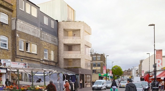 CGI of 75 Ridley Rd E8 (supplied)