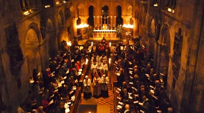 Barts14: Nine lessons and carols with a German flavour, St Bartholomew's church, Smithfield OL9 6AA © davidaltheer@gmail.com