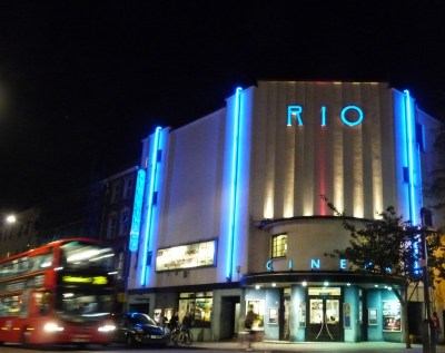 Rio cinema Dalston London © DavidAltheerQ@gmail.com