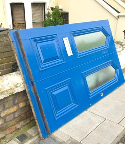 One of the needlessly removed orig. doors from Family Mosaic houses @ 83 87 Sandringham Rd E8 2LL 170315 © DavidAltheer@gmail.com