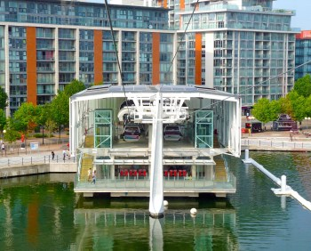 Emirates Cable car Royal Victoria Dock London © david.altheer@gmail.com