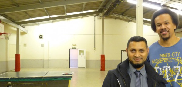 Mohammed Alam manager & helper @ St Matthias Youth Club, 101 Dalston Lane, Hackney E8 1NH © David Altheer 110416