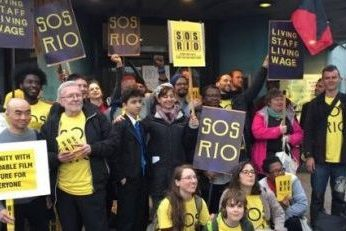 Strike pic supplied by the Save The Soul of the Rio group
