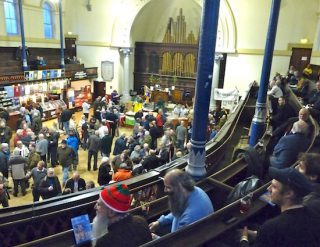 Camra ale festival @ Round Chapel, Glenarm Road (crnr Lower Clapton Road), Clapton E5 0LY 170211 © DavidAltheer [at] gmail.com