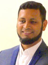 Mo17: Mohammed Alam manager Sst Matthias youth club Dalston Ln 310317 310317 © David Altheer