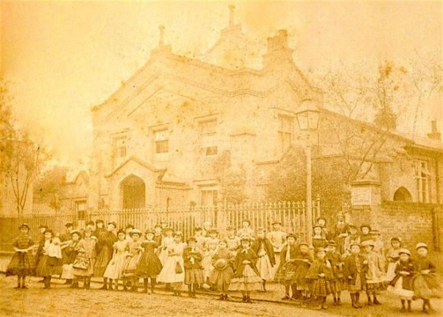 West Hackney Parochial School Stoke Newington 1860s? © Hackney Archives LBH