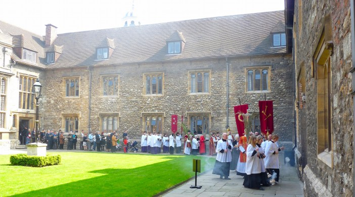 Charterhouse service of Dr Martin DUdley rector of St Bart's 17042911 © DavidAltheer [at] gmail.com