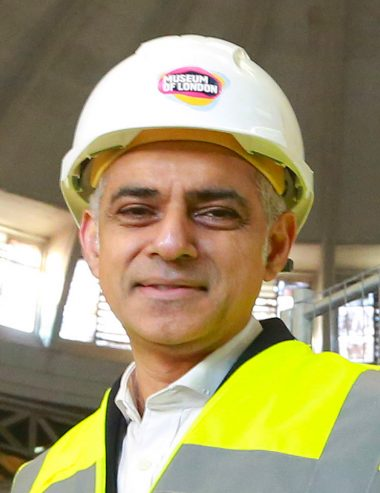 Lon mayor Sadiq Khan. January 24, 2017. Pic: Matt Alexander/PA Wire
